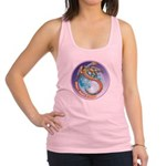 Magic Moon Dragon Racerback Tank Top
