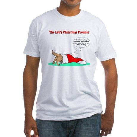 Lab Holiday Promise #2 Fitted T-Shirt