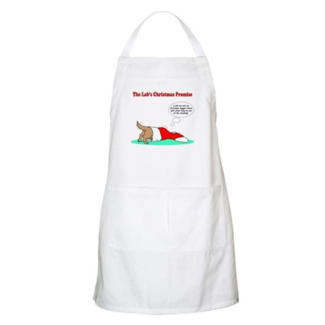 Lab Holiday Promise #2 BBQ Apron