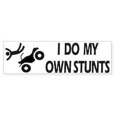 ATV, ATV, Funny ATV Stunts Bumper Bumper Sticker