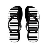 Piano Key Flip Flops