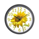 Funny Flower seeds Wall Clock