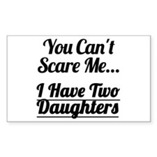 I Have Two Daughters Decal