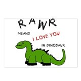 DinoRawr.png Postcards (Package of 8)