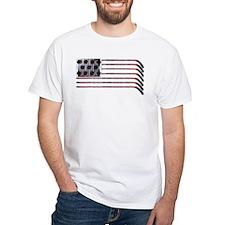 US Hockey Flag T-Shirt T-Shirt
