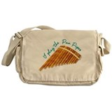 Pan Pipes Messenger Bag