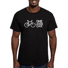 One less car - cycling T-Shirt