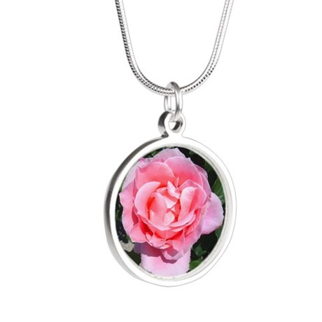 pinkrose-shirt.jpg Silver Round Necklace