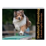Shetland Sheepdog Wall Calendar