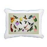 Cute Songbird Rectangular Canvas Pillow