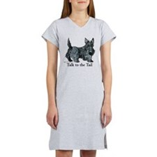 Cute Scottish terrier Women's Nightshirt