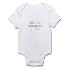 bliss is NATUROPATHIC MEDICIN Infant Bodysuit