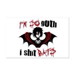 So Goth I Shit Bats Mini Poster Print