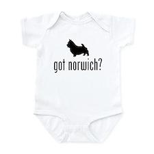 Norwich Terrier Infant Bodysuit