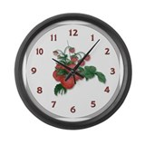 Cute Fruit lover Large Wall Clock