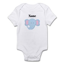 Personalized Elephant Infant Bodysuit