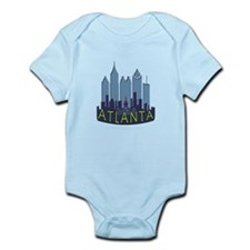 Atlanta Skyline Newwave Cool Infant Bodysuit