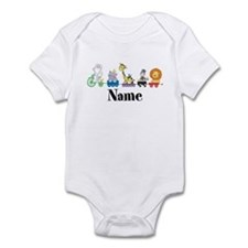 Personalized Noahs Ark Infant Bodysuit