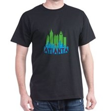 Atlanta Skyline Newwave Primary T-Shirt