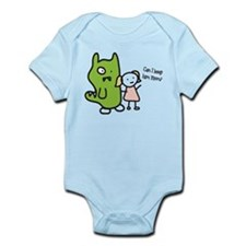 Can I Keep Him? Infant Bodysuit