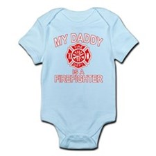 My Dad Is a Firefighter Infant Bodysuit