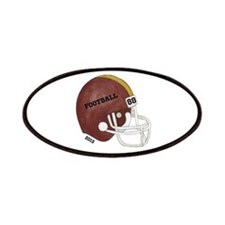 Football Helmet Patches