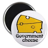 Government Cheese Refrigerator Magnet