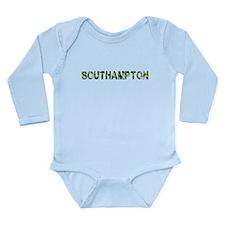 Southampton, Vintage Camo, Long Sleeve Infant Body