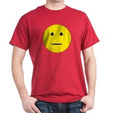 Poker Face Emoticon T-Shirt