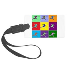 Pop Art Lunge Large Luggage Tag