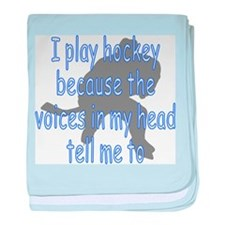 HOCKEY VOICESW.png baby blanket