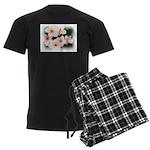 plumeria.jpg Men's Dark Pajamas