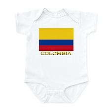 Flag of Colombia Infant Bodysuit