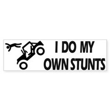 Jeep, Jeep, Jeep Stunts Bumper Bumper Sticker