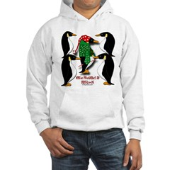 Penguins Do Christmas Hooded Sweatshirt