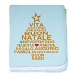 Buon Natale baby blanket