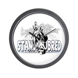 Standardbred Racing Wall Clock