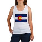 Flag of Colorado Women's Tank Top