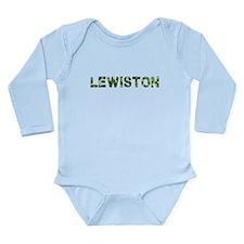 Lewiston, Vintage Camo, Long Sleeve Infant Bodysui