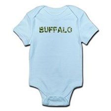 Buffalo, Vintage Camo, Infant Bodysuit