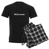 Customizable nickname pajamas