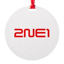 2NE1 logo 3000-500 Ornament