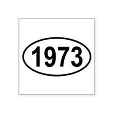 1973 Oval Sticker