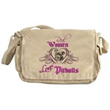 Real Women Love Pitbulls Messenger Bag