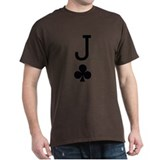 Jack of Clubs Poker T-Shirt