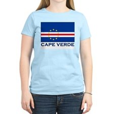 Flag of Cape Verde Women's Pink T-Shirt