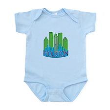 Houston Skyline NewWave Primary Infant Bodysuit