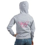 &amp;quot;Wifey&amp;quot; Bride and Bachelorette Zipped Hoody