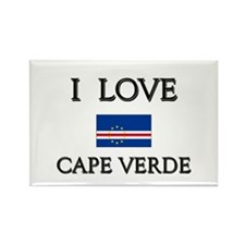 I Love Cape Verde Rectangle Magnet