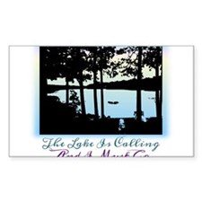 The Lake is Calling and I Must Go Decal